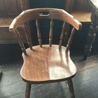 Various Wooden Pub Chairs