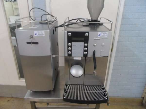 Franke Evolution Bean to Cup Coffee Machine