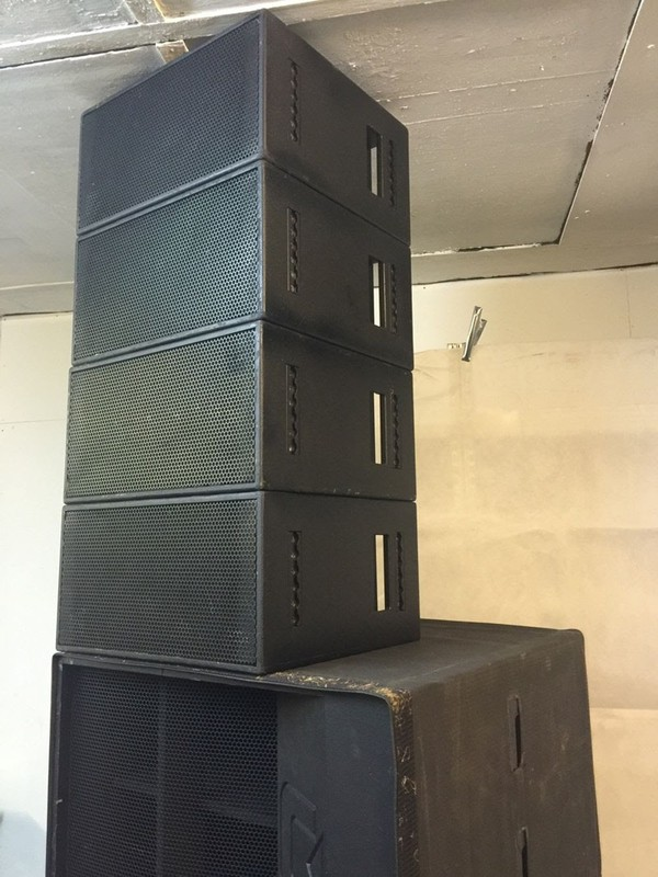 Celestion Cxi Line Array Speaker System Cxi822 Cxi1811