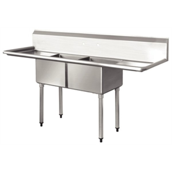 Brand New Stainless Steel Double Sink (3791)