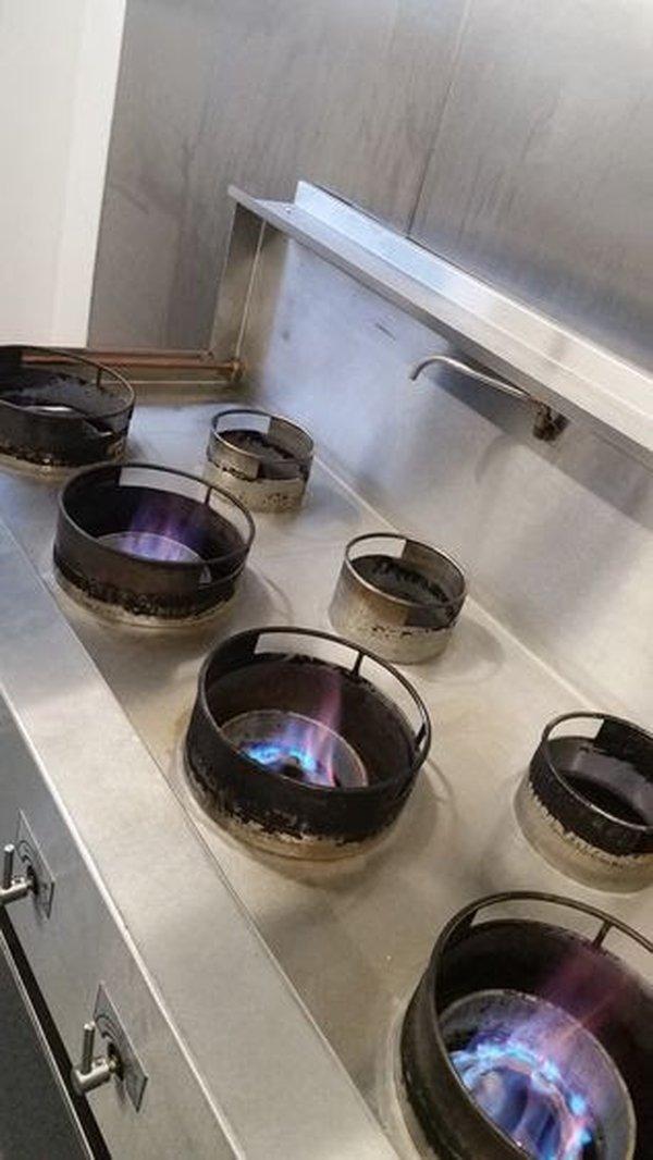 Wok Cooker - 7 Burner LPG