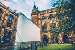 "Giant 12m inflatable ""Airscreen"" Cinema Screen"