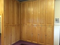 Oak Changing Room Lockers