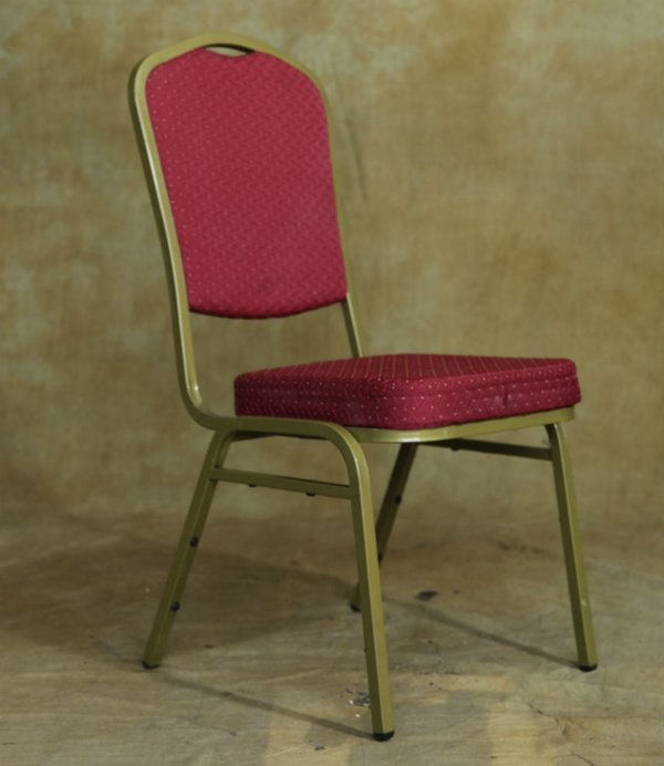 Shield back banqueting chair