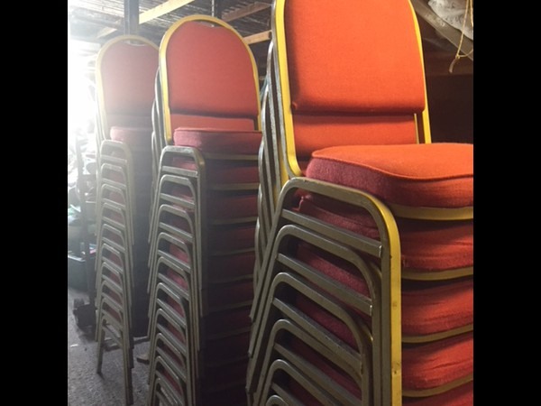 Stacking banqueting chairs for sale