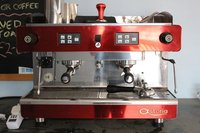 Astoria Treviso 2 Group Coffee Machine (Red)