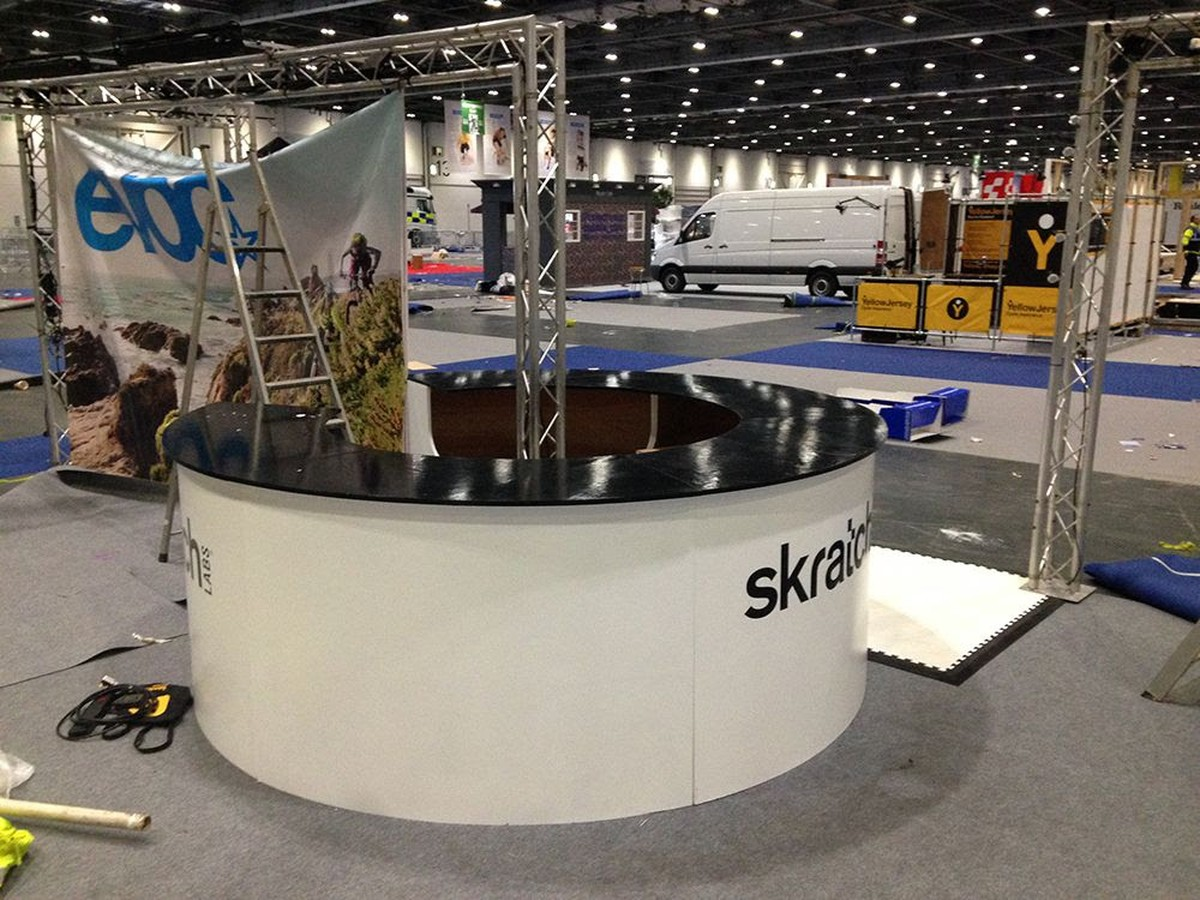 Secondhand Exhibition And Display Equipment Stand