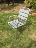 Aluminium stacking chairs for sale