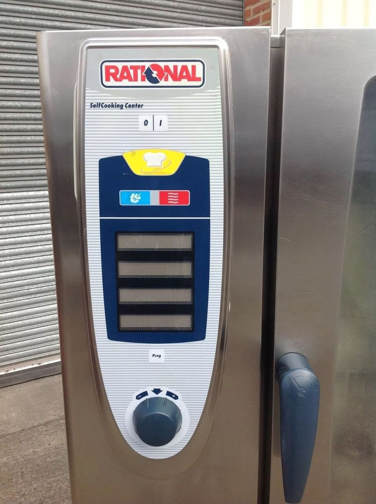 Rational Scc 10 Grid Gas Combi Oven Stand