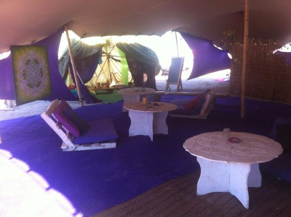 bespoke chill out marquee