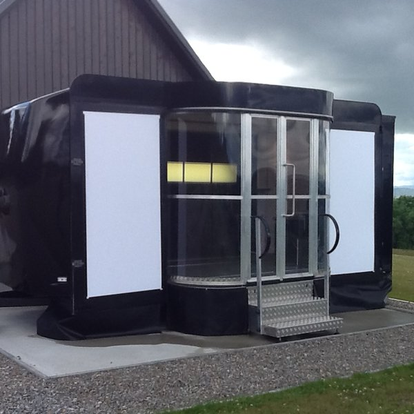 Kompak exhibition trailer 5.5m