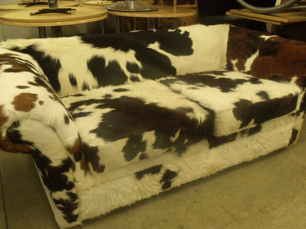 Cow Hide Sofa