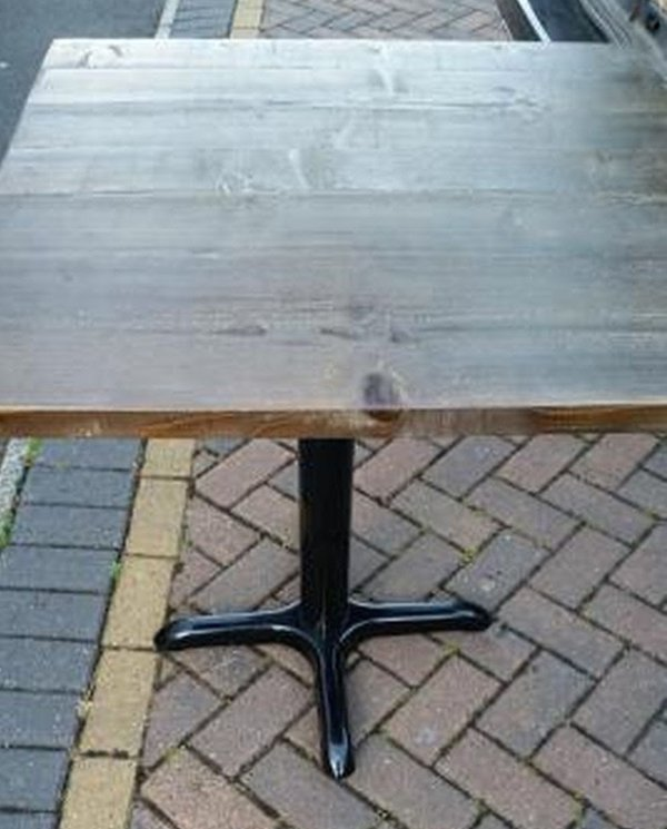 Reclaimed Scaffold Board Tables