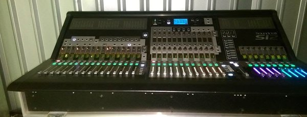 Soundcraft Si2 In Flight Case
