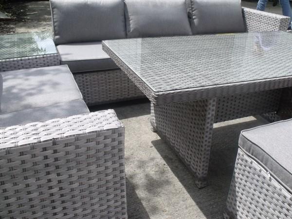 6x Brand New Sabrina Corner Sofa Set Dining and Lounge Sets