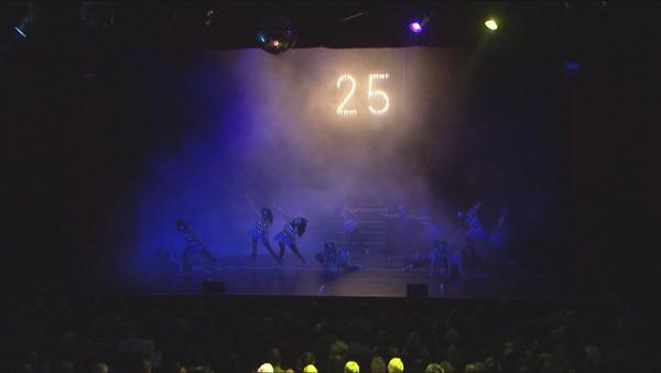 Large Illuminated '25' Sign
