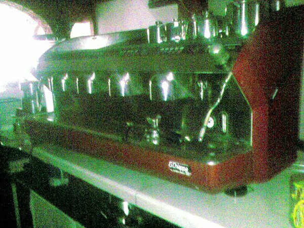 Used 4 group Espresso Coffee Machine