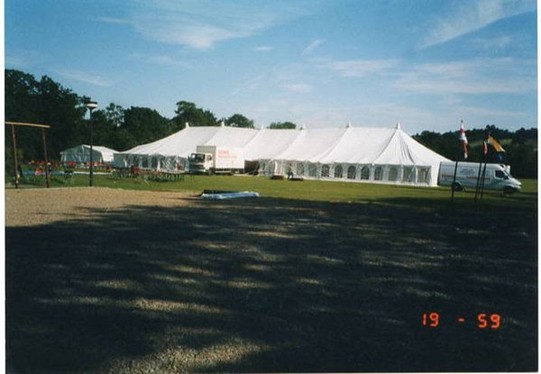 50' x 140' Traditional Marquee