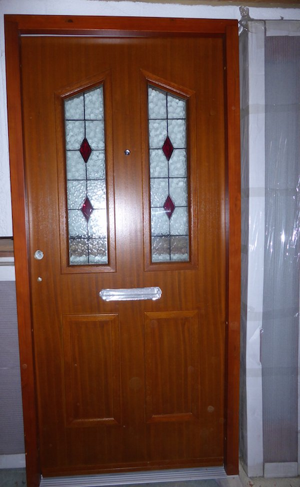 4 brand new wooden doors