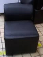 20x Black Reception Chairs