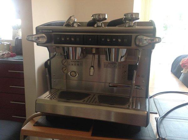 Rancilio Classe 7e Tall 2 Group Compact Coffee Machine