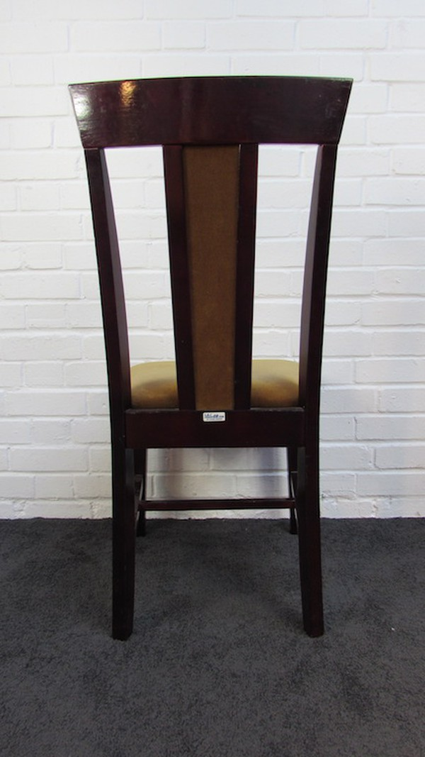 Classic Dark Wooden Dining Chairs