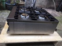 NEARLY NEW Lincat 4 burner gas boiling top