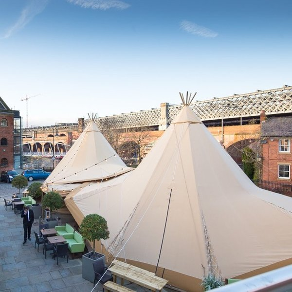 Beautiful Bespoke Tipi