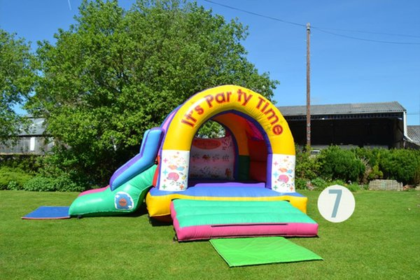 15ft x 15ft (12ft high) Bouncy Castle with Slide