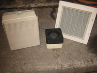 Expelair and Vent Axia Fans