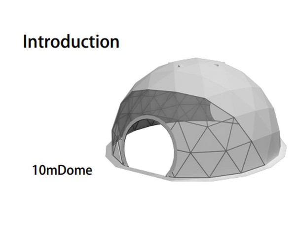 used Dome marquee for sale