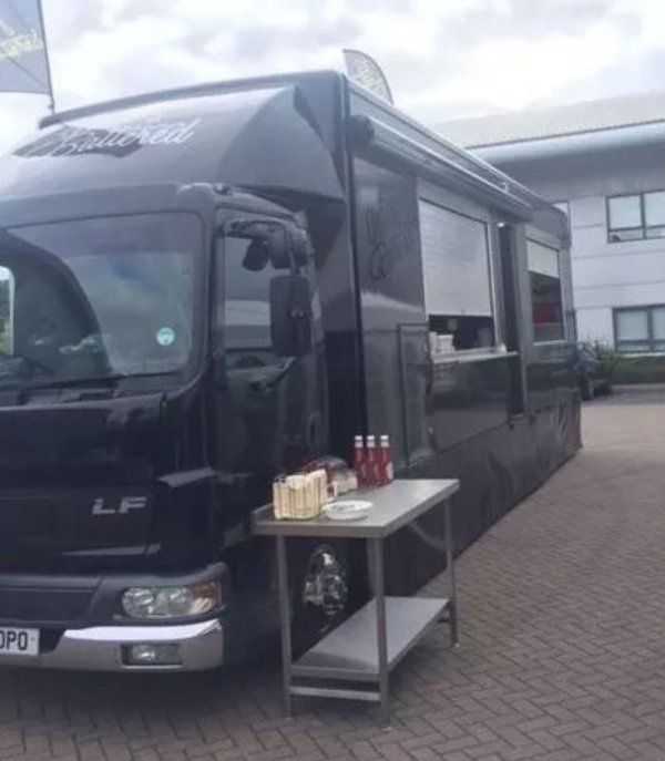 Fish and chip or Catering lorry