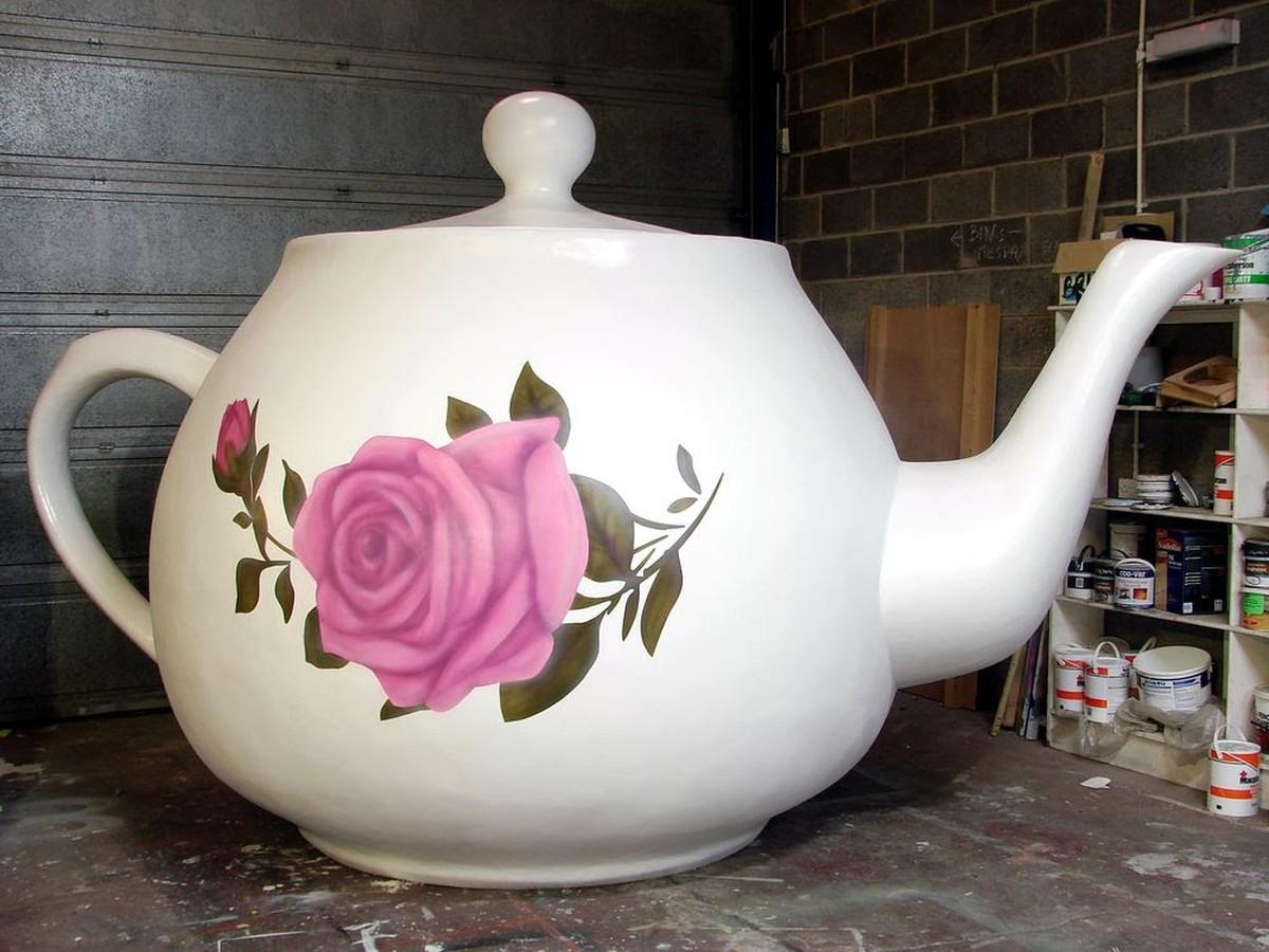 Secondhand Prop Shop Alice In Wonderland Giant Teapot