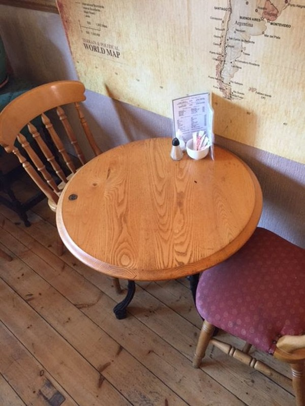 Round cafe tables for sale