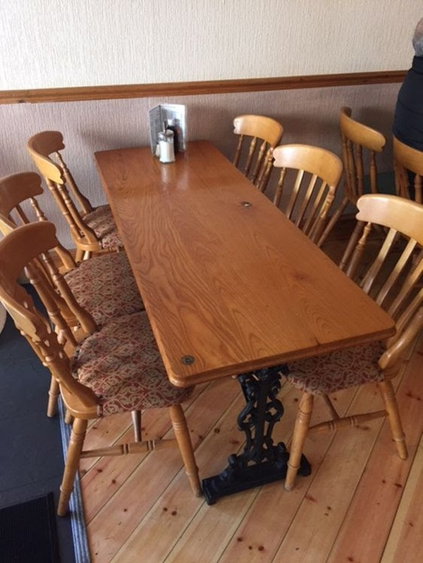 Second hand cafe furniture
