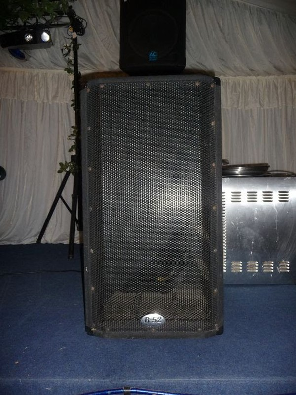 B-52 DJ speakers
