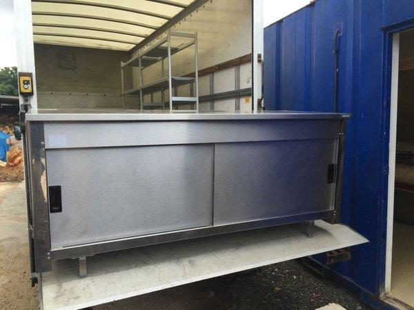 Ambient Storage Cupboard 1800 x 680 x 800