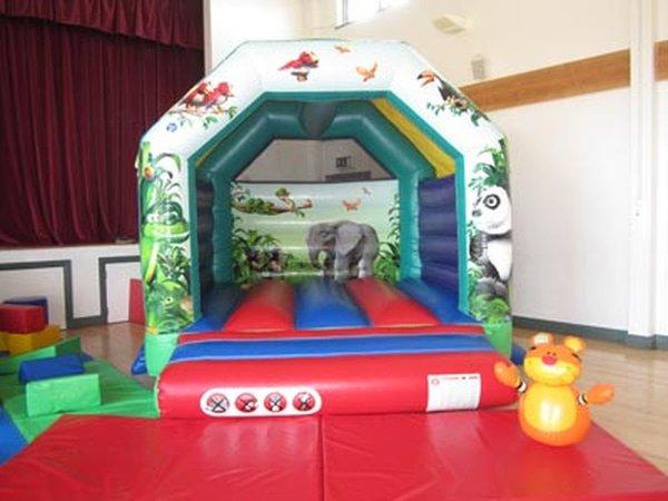 """10"""" x 12"""" A frame Bouncy Castle"""