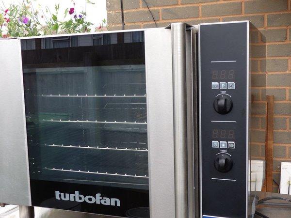 Blue Seal E31D4 Bake Off Oven