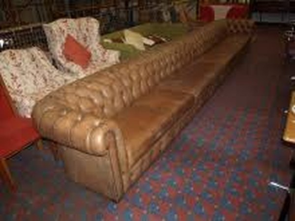 Very long Chesterfield Sofa