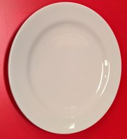 "New Crockery White 9"" Plates"