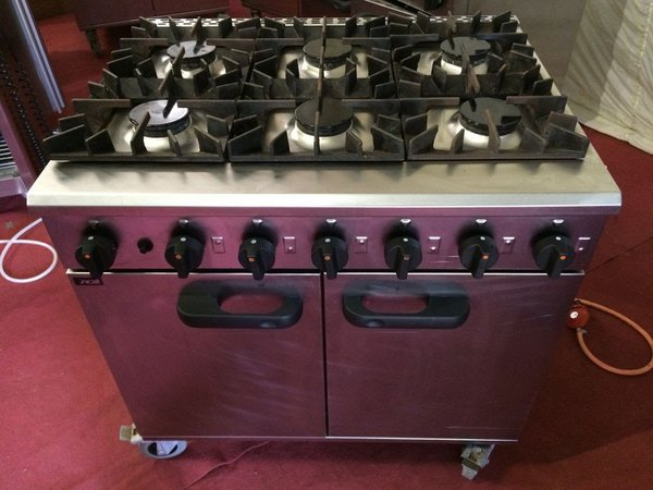 Lincat LMR9/P  six ring gas oven
