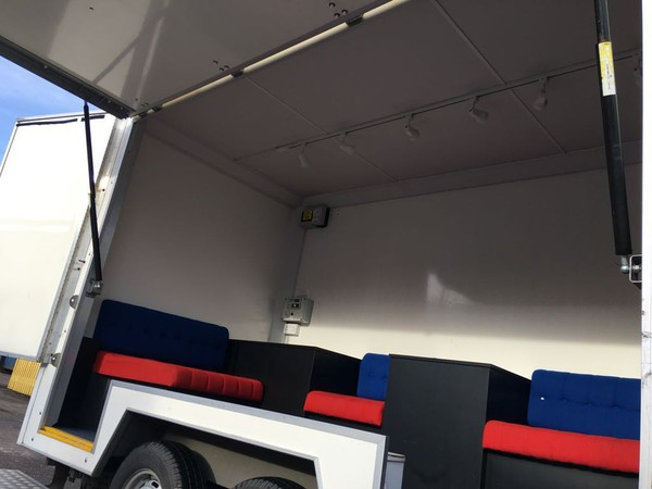 Buy Used Lynton Exhibition trailer