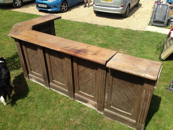 Vintage Mahogany bar for sale