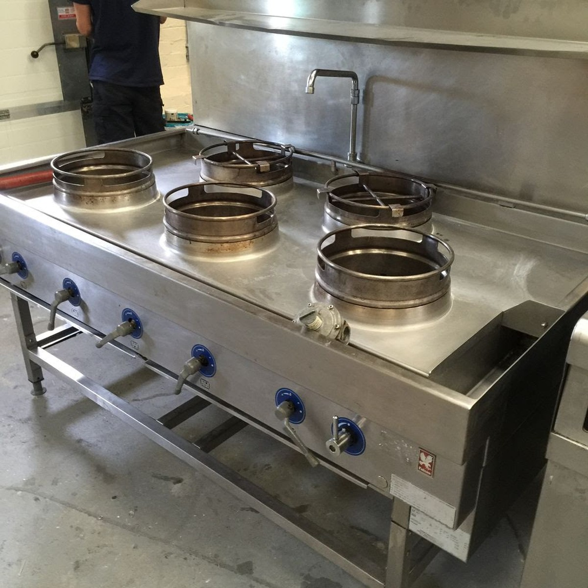 Secondhand Catering Equipment Wok Cooker Chinese