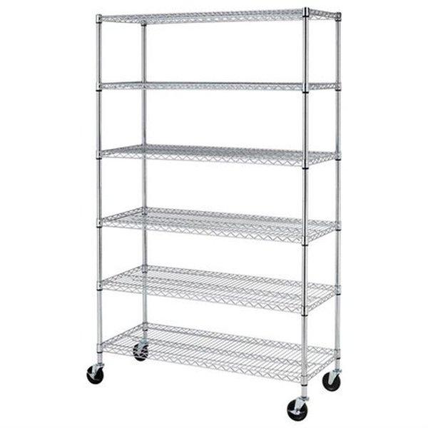 6 shelf storage unit