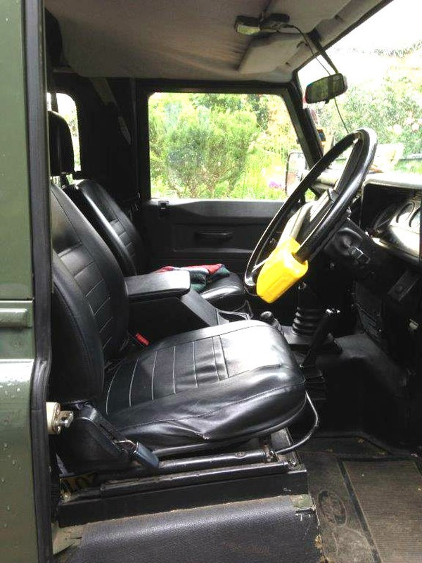 90 Defender cab