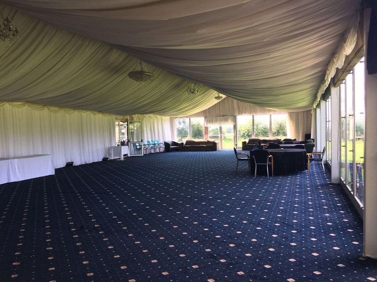 Curlew Secondhand Marquees Framed Marquees 12m Width