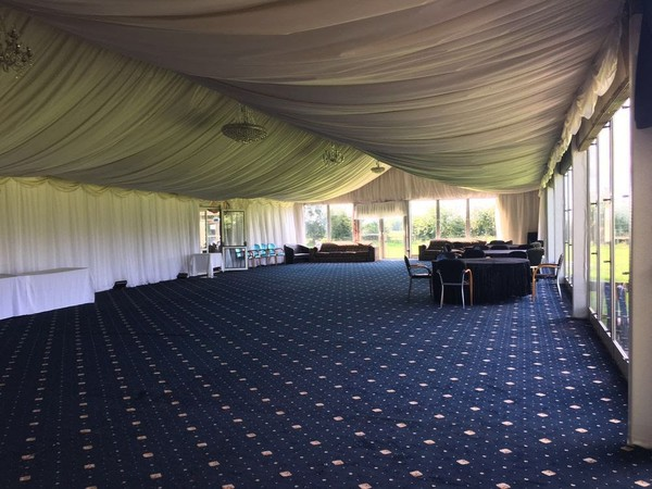 Large marquee for events and weddings