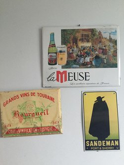 French Drink Signs